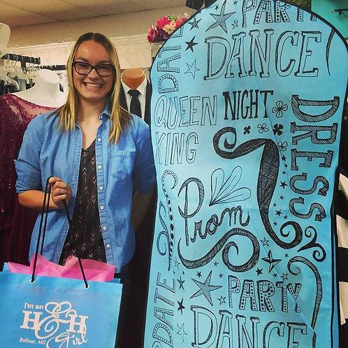 H & H Prom Tote Bag