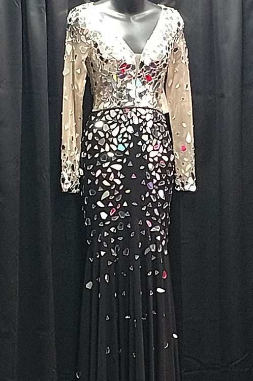Shattered Mirror Gown