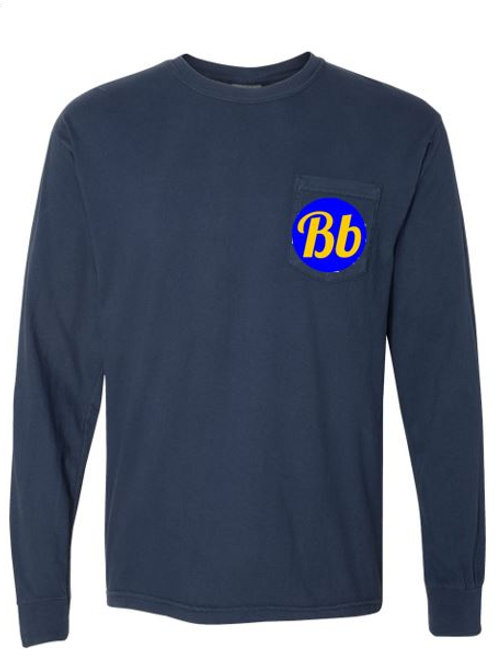 Comfort Colors Long Sleeve Pocketed Tee