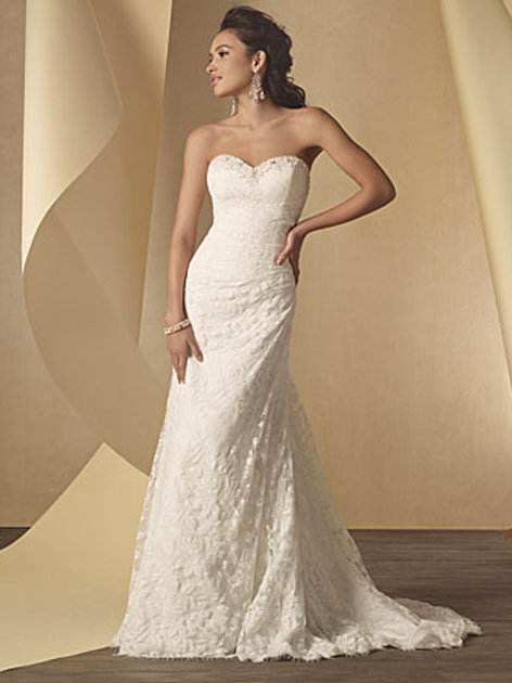 Alfred Angelo 2208 Ivory size 22w