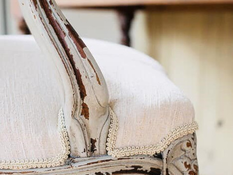 A specialist in reviving old furniture...