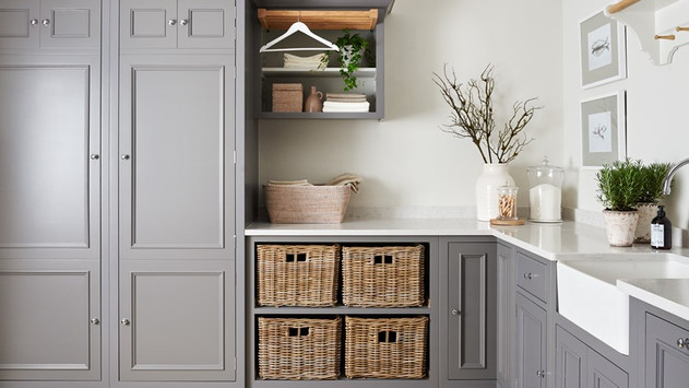 Chichester 1000 quad laundry basket cabinet