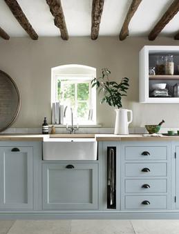 Neptune Henley Kitchen in Flax Blue