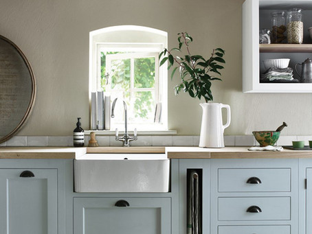 Ways to: use Flax Blue in the kitchen