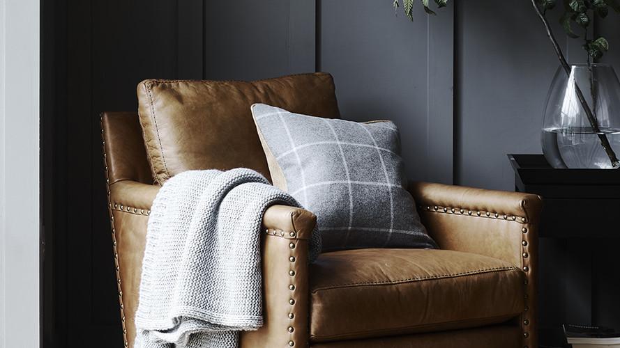 Caspar Leather Armchair