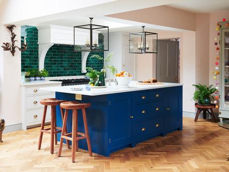 A colourful Chichester kitchen