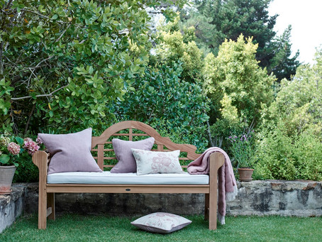 Why we love the humble garden bench