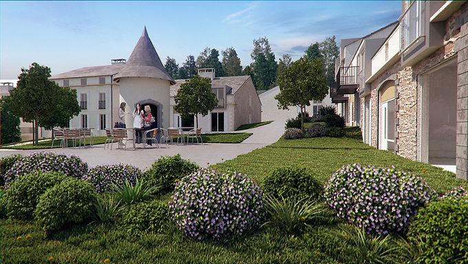 Investment opportunity in luxury apartments on Golf & Spa resort - Opportunité d'investissement dans des appartements de luxe sur Golf & Spa Resort