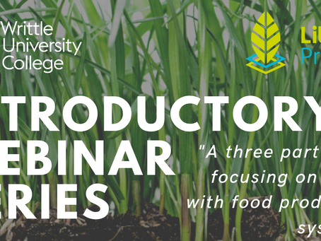 Webinar: Transforming Agriculture and its Workforce for a Sustainable Future