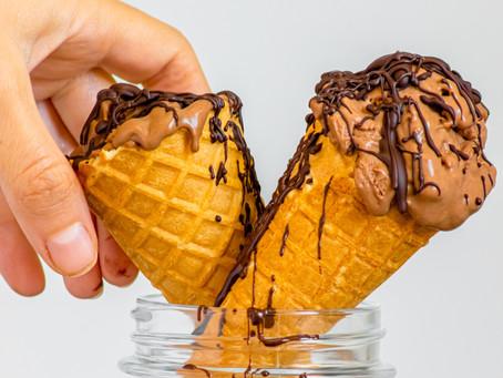 Шоколадов Сладолед с Карамел