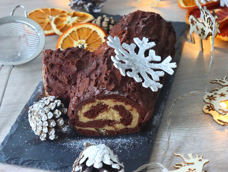 Chocolate-Orange Bûche de Noël
