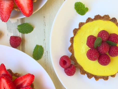 Vegan Lemon Tartelettes