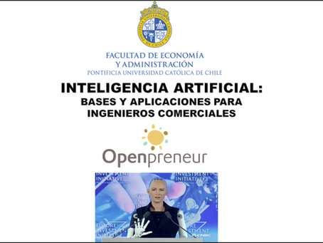 WEBINAR: ARTIFICIAL INTELLIGENCE FOR COMMERCIAL ENGINEERS (SPANISH)