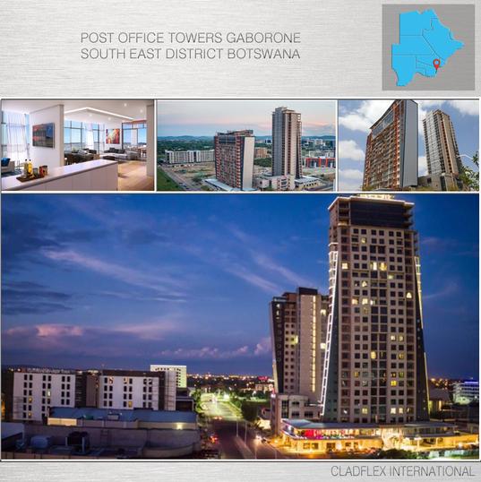 Post OfficeTowers Gaborone Botswana.png