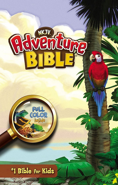 NKJV Adventure Bible - Hardcover