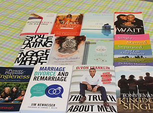 Singles, Engaged, and Dating Books