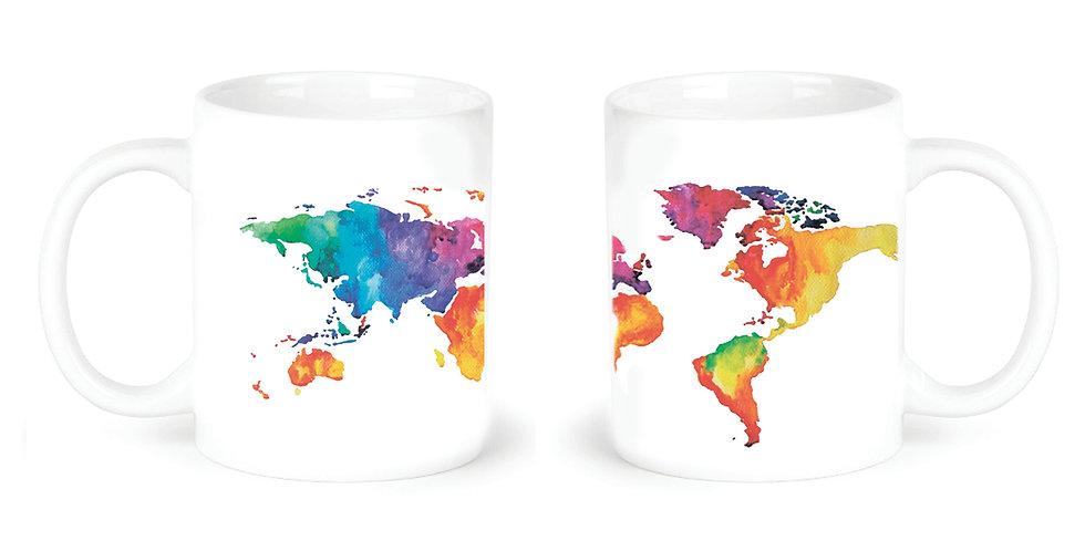 """Чашка """"Карта"""""""