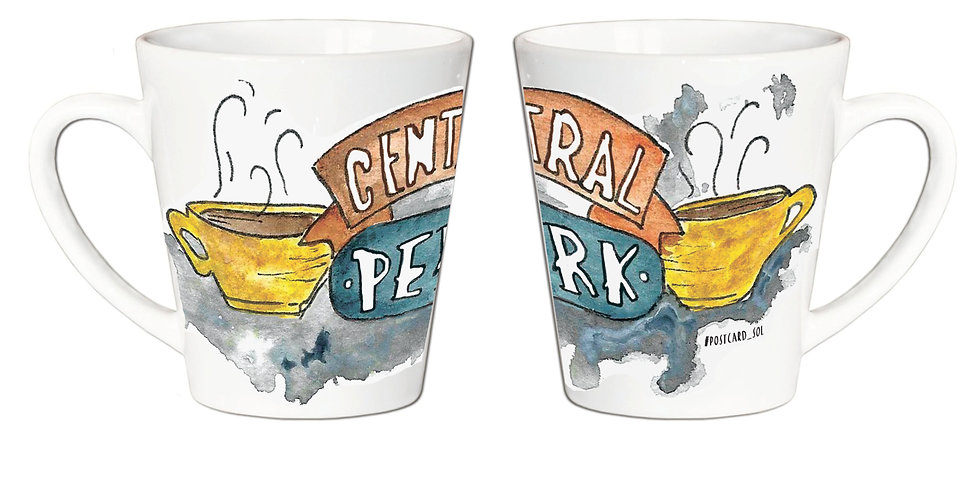 "Чашка Латте ""Central Perk"""