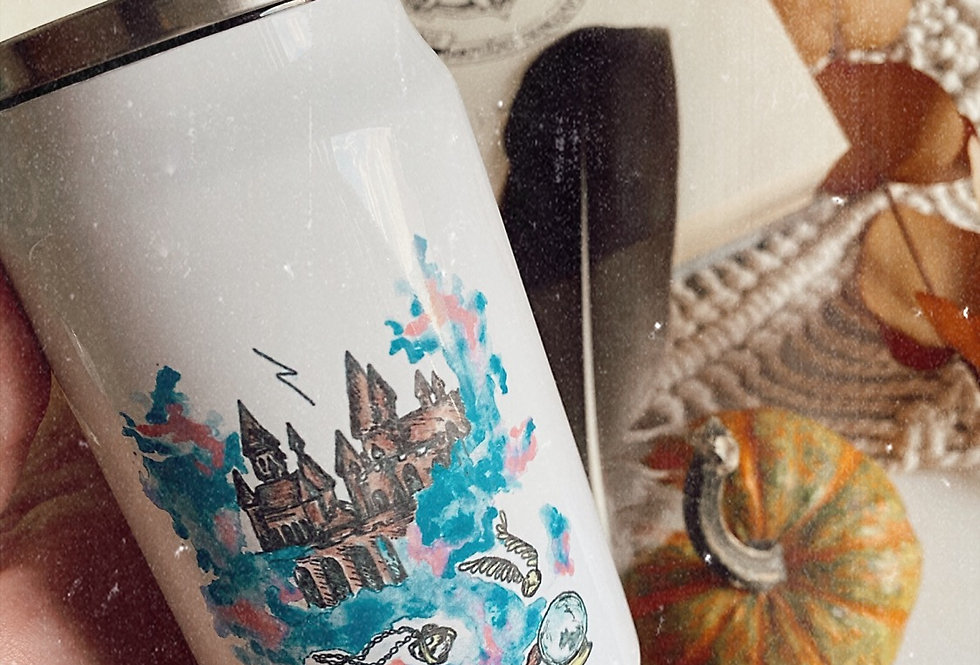термочашка з трубочкою «магія»
