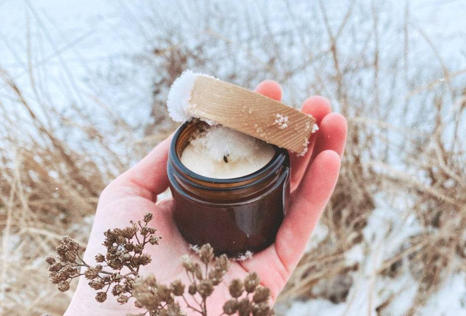 Натуральна cоєва свічка