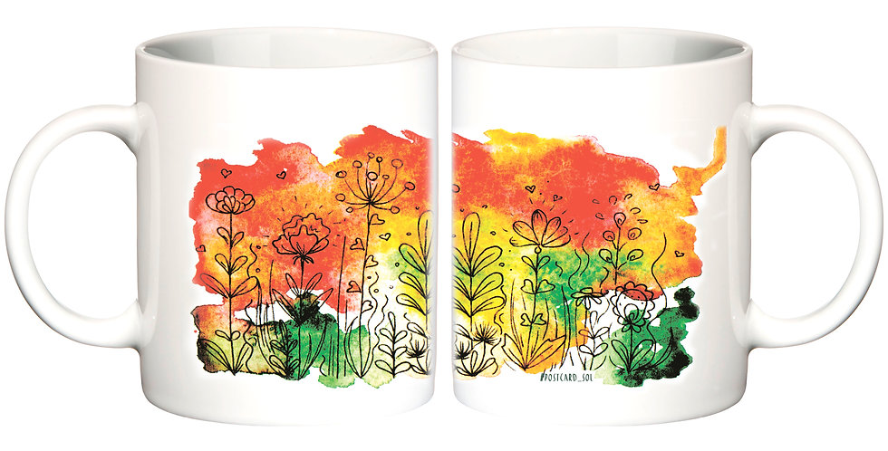 """Чашка """"Квіти"""""""