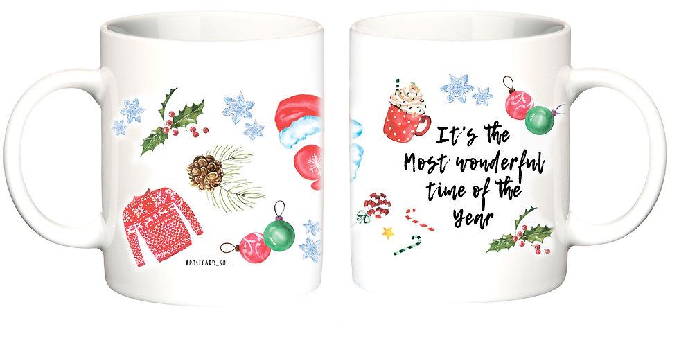"""Чашка """"Зимові дрібниці"""""""