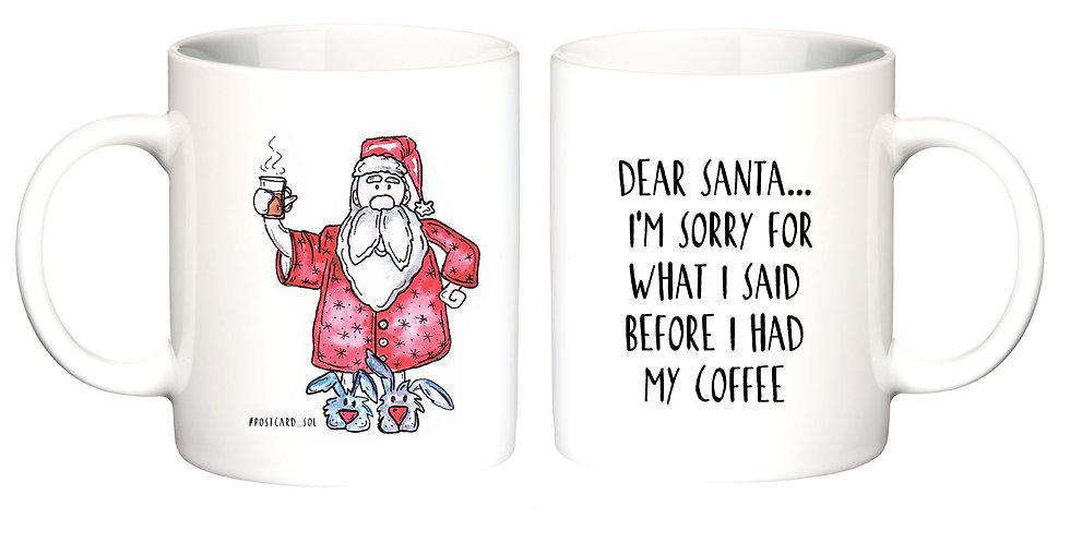 "Чашка ""Santa"""