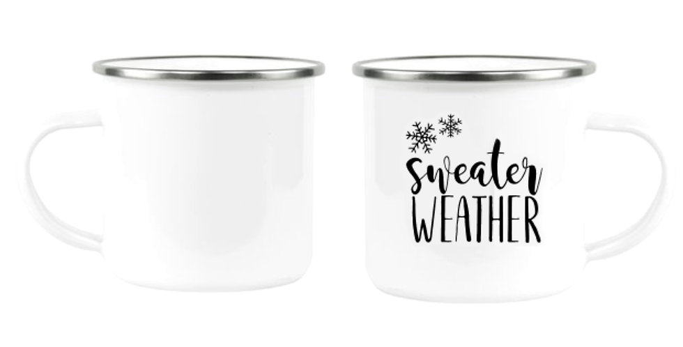"Кружка ""sweater weather"""
