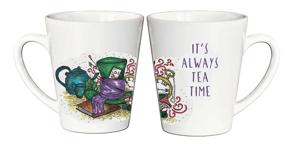 """Чашка Латте """"Алиса"""""""