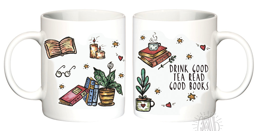 "Чашка ""Книги"""