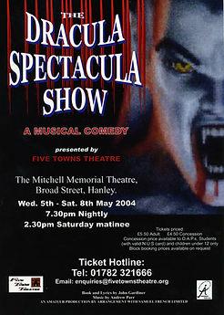 Dracula Spectacula poster