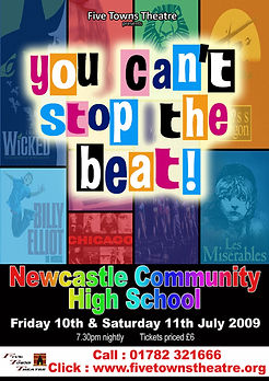 You can't stop the beat poster
