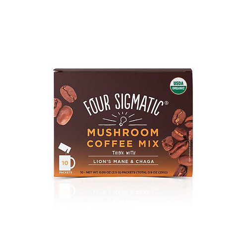 Mushroom Coffee Mix Packets With Lion's Mane & Chaga