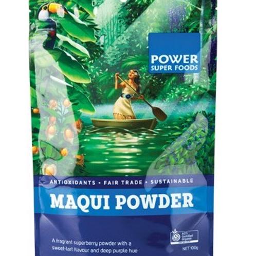"POWER SUPER FOODS Maqui Powder ""The Origin Series"" 100g"