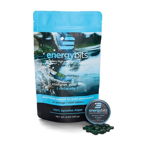 Energy Bits - 1000 Tablets [Out of Stock - awaiting arrival from USA]