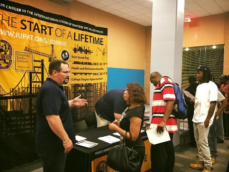 Area Building Trades Unions Attend Infrastructure Academy Recruitment Event