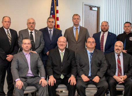 Baltimore DC Building Trades Officers Sworn In