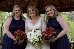 Sandy and Bridesmaids