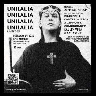 Unilalia Live! 005 Flyer