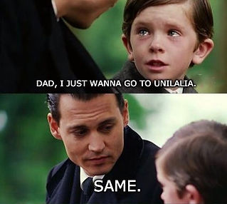 Unilalia, meme