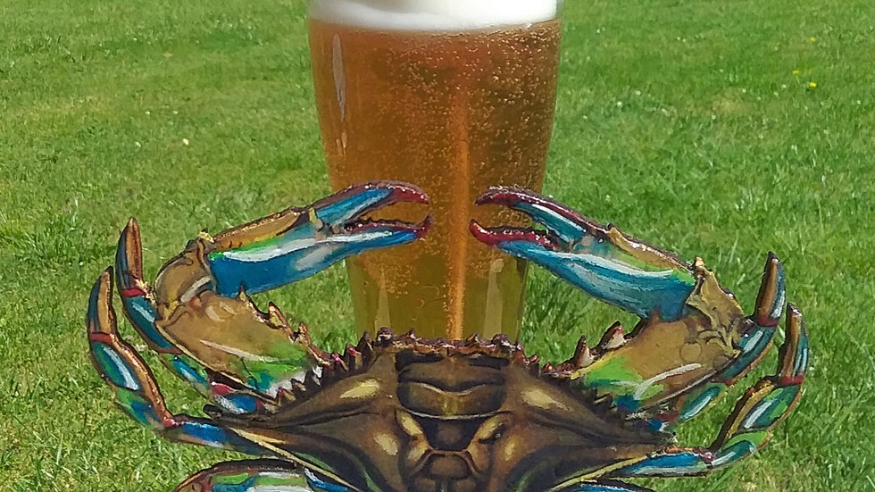 Blue Crab and Beer