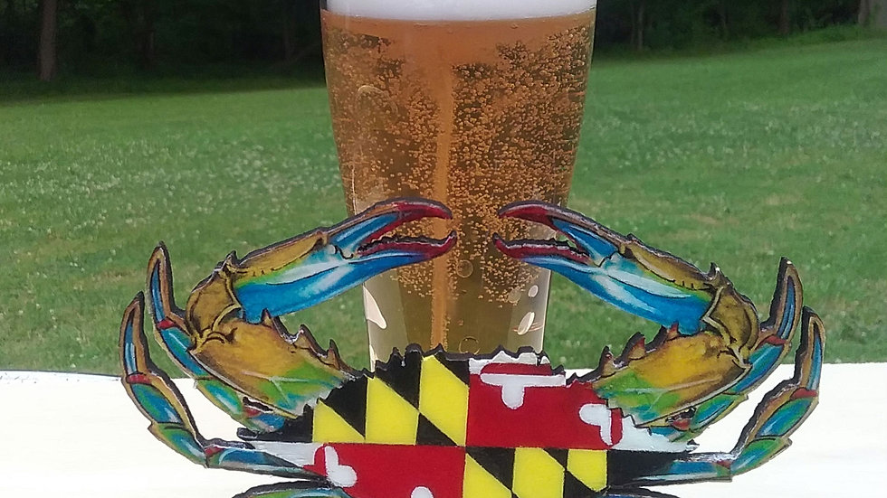 Maryland crab and Beer