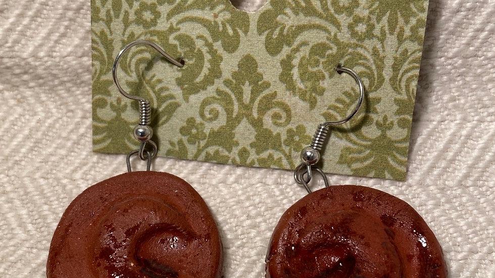 Earrings with Moon
