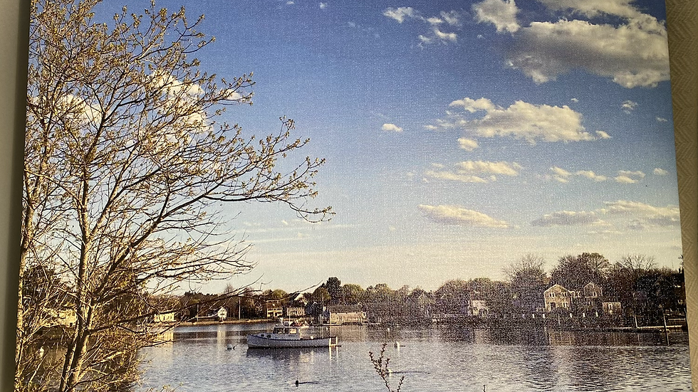 11x14 Canvas Pierce Island View #1
