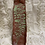 Thumbnail: Long Incense Burner with Fern Imprint