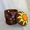 Thumbnail: purple flower and sun oil burner/wax warmer