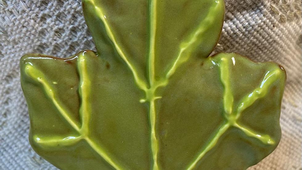 Ornament, Green Maple