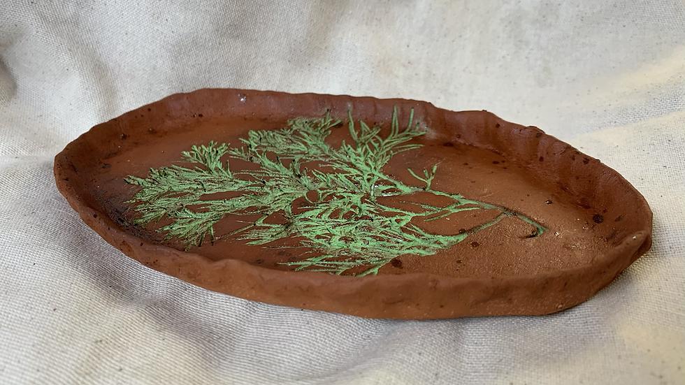 Tray with Cedar