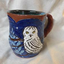 Custom Snowy Owl Mug