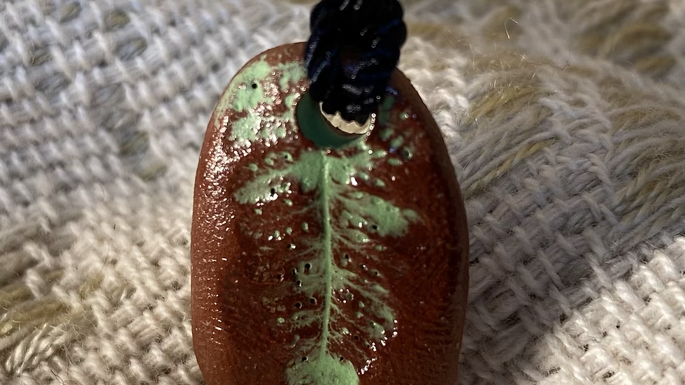Pendant with Fern